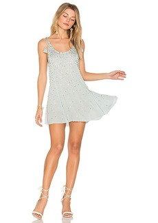 Free People Just Watch Me Slip Dress in Blue. - size L (also in M,S)