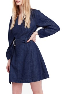 Free People Karmen Chambray Dress