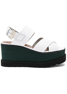 Free People Kate Wedge in White. - size 38 (also in 39,41)