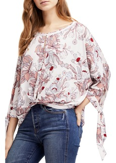 Free People Keepin' On Tee