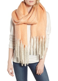 Free People Kensington Brushed Herringbone Fringe Scarf