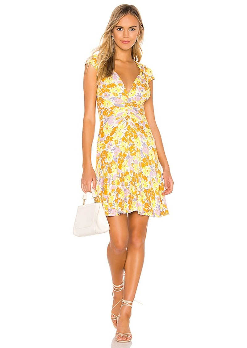 Free People Key To Your Heart Mini Dress