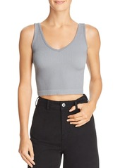 Free People Knit Cropped Tank