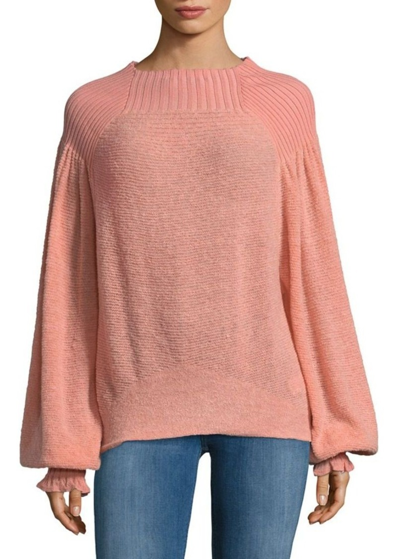7e2e3b1fb354c Free People Free People Knitted Boatneck Sweater