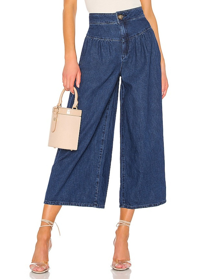 Free People La Bomba Wide Leg Jean