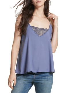 Free People Lace Inset Camisole