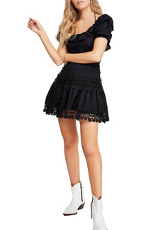 Free People Lace Minidress