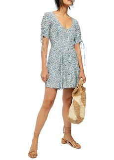 Free People Lace-Up Minidress