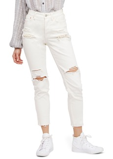 Free People Lacey Stilt Embellished Skinny Jeans