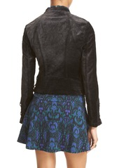 Free People 'Lacey' Velvet Jacket