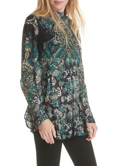 Free People Lady Luck Print Tunic