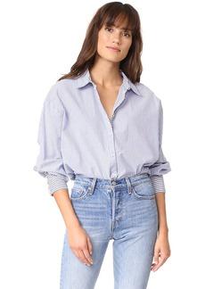 Free People Lakehouse Button Down Shirt