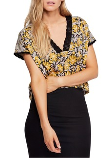 Free People Leilani Print Top