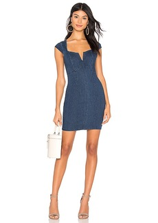 Free People Lia Denim Mini Dress