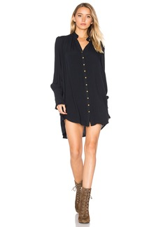 Free People Lieutenant Shirt Dress
