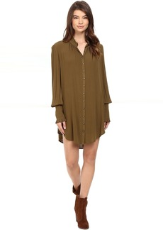 Free People Lieutenant Shirtdress Mini