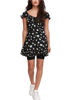 Free People Like a Lady Print Minidress