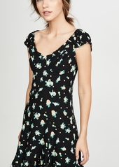 Free People Like A Lady Printed Mini Dress