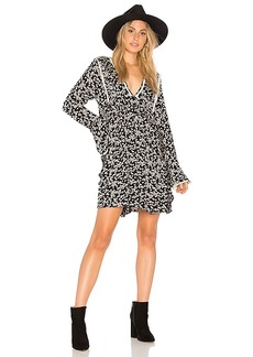 Free People Like You Best Mini Dress in Black. - size L (also in M,S,XS)