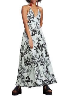 Free People Lille Print Maxi Dress