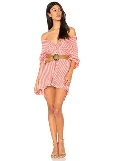 Free People Little Sway Mini Dress in Red. - size M (also in S,XS)