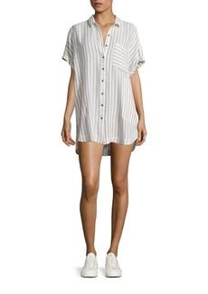 Free People Little Sway Mini Shirt Dress