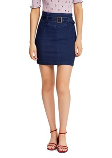 ca4803efaeda0 Free People Free People Step Up Denim Mini