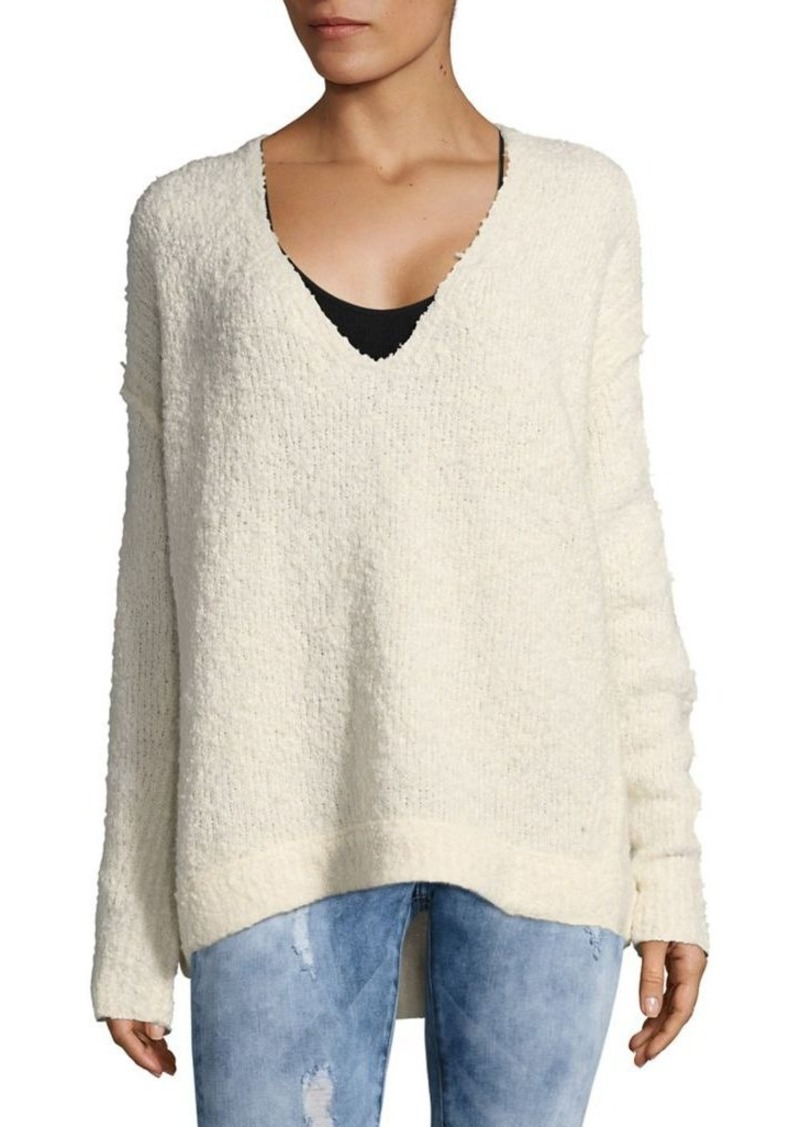 Free People Free People Lofty V Neck Sweater Sweaters