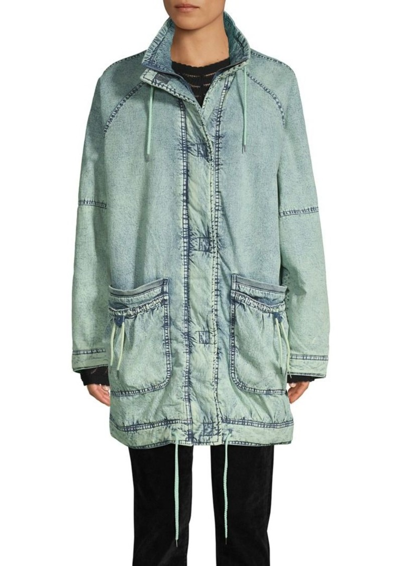 Free People Long-Sleeve Stretch Anorak