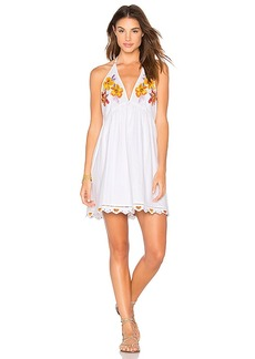 Free People Love and Flowers Dress in White. - size L (also in M,S,XS)