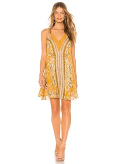 Free People Love Bird Printed Mini Dress