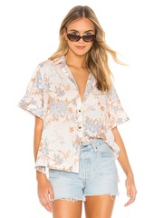 Free People Love Letters Button Down