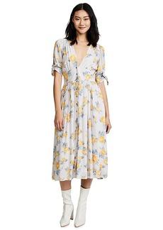 Free People Love of My Life Printed Dress