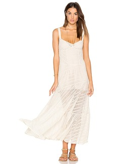 Free People Love Story Slip Dress in White. - size L (also in M,S,XS)