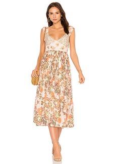 Free People Love You Midi Dress