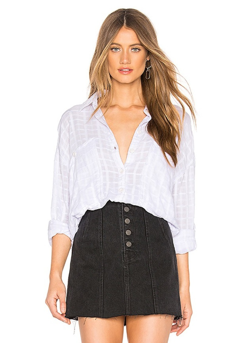 Free People Loveland Solid Button Down