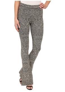 Free People Lurex Sweater Flare Pants