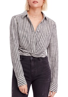 Free People Lust for Life Twist Top