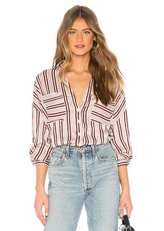 Free People Mad About You Button Up