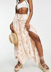 Free People magnetic meadows maxi skirt in vintage floral