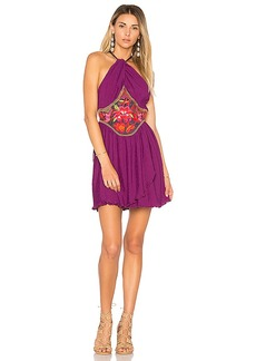 Free People Marcella Mini Dress in Purple. - size 0 (also in 2,4,6)