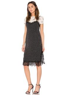 Free People Margot 2FR Slip Dress in Black. - size 0 (also in 2,4,6)