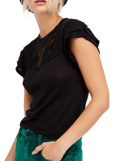 Free People Mariposa Lace Top