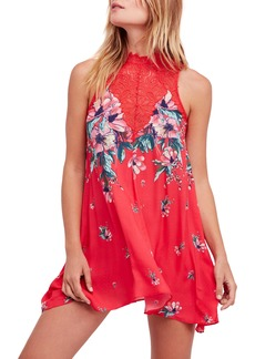 Free People Marsha Lace Slipdress