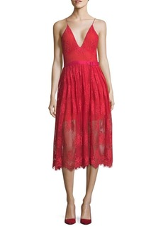 Free People Matchpoint Midi Dress
