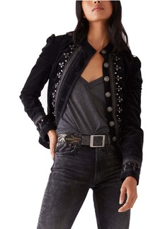 Free People Maven Pintuck Jacket