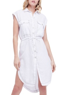 Free People Meet Me Halfway Shirtdress