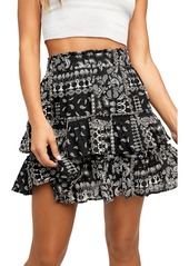 Free People Melissa Mini Skirt