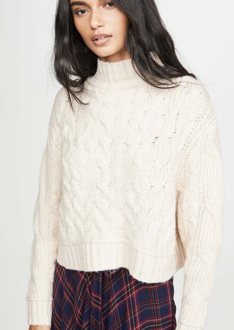 Free People Merry Go Round Sweater