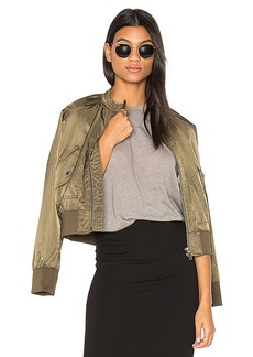 Free People Midnight Bomber in Army. - size L (also in M,S,XS)